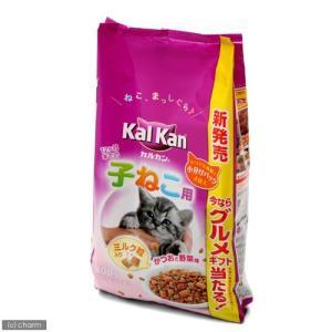 カルカン ドライ 12か月までの子ねこ用 かつおと野菜味ミルク粒入り 800g(小分けパック2袋入り) キャットフード カルカン|chanet