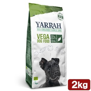 YARRAH(ヤラー) オーガニックベジタリアンドッグフード 2kg 正規品 ドッグフード YARRAH ヤラー 関東当日便