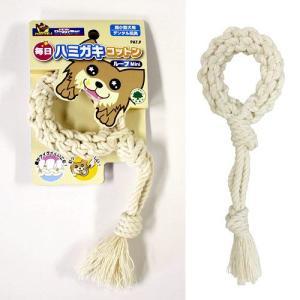 ドギーマン 毎日ハミガキコットン ループ Mini 犬 犬用おもちゃ デンタルケア 関東当日便|chanet