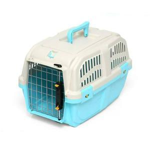 ドギーマン イタリア製ハードキャリー DOGGY EXPRESS S ブルー 犬 猫用キャリーバッグ 航空機対応(5kgまで) 関東当日便|chanet