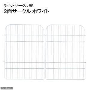 GEX ラビットサークル H65 モダン 2面(ホワイト) うさぎ ケージ ジェックス