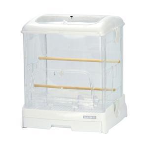 三晃商会 SANKO イージーホーム クリアバード 35WH(ホワイト)(360×340×430) ...