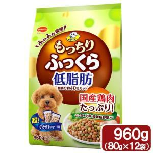ビタワン もっちりふっくら 低脂肪 ささみ・小魚・緑黄色野菜入り 960g (80g×12) ドッグフード ビタワン|chanet