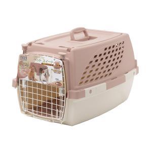 ペットスイート M チョコ(中敷マット付) 小型犬 猫用キャリーバッグ キャリーケース クレート(7kgまで) お一人様3点限り 関東当日便|chanet