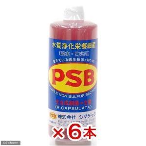 シマテック PSB 水質浄化栄養細菌 1000mL 6本 光合成細菌 淡水 海水用 バクテリア 熱帯...