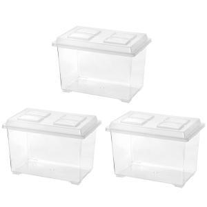 コバエシャッター 大 (370×221×240mm)3個 プラケース 虫かご 飼育容器 昆虫 カブト...