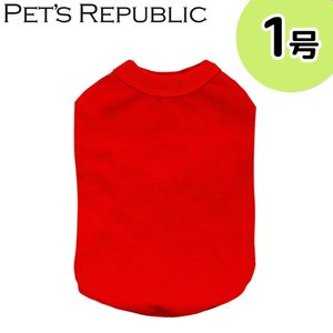 PET'S REPUBLIC スタンダードTシャツ 1号 レッド 関東当日便|chanet
