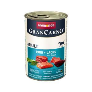 アニモンダ ドッグ グランカルノ ミックス 牛肉・サーモン・野菜 400g 正規品 2缶入り 関東当日便|chanet
