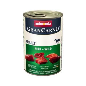 アニモンダ ドッグ グランカルノ アダルト 牛肉・野鳥獣 400g 正規品 2缶入り 関東当日便|chanet