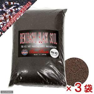 紅蜂ブラックソイル パウダー(BENIBACHI BLACK SOIL) 5L 3袋入り 熱帯魚 お...