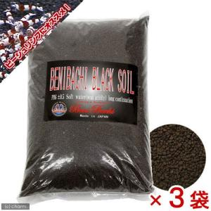 紅蜂ブラックソイル(BENIBACHI BLACK SOIL) 5L 3袋入り 熱帯魚 用品 お一人...