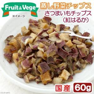 国産 さつまいもチップス(紅はるか) 60g 犬用おやつ PackunxCOCOA フルーツ&ベジ 蒸し野菜チップス 関東当日便|chanet