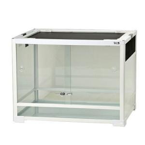 メーカー:三晃商会 品番:E03 WH6045 ▼▲1Rダンボール使用 コンパクトに畳めるガラス製ケ...