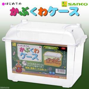 三晃商会 SANKO はじめての かぶくわケース M カブト クワガタ 飼育容器 関東当日便