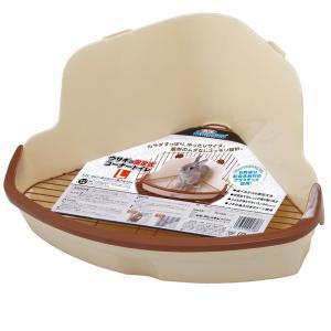 ミニアニマン ウサギの固定式コーナートイレ L うさぎ トイレ ドギーマン お一人様5点限り 関東当日便|chanet