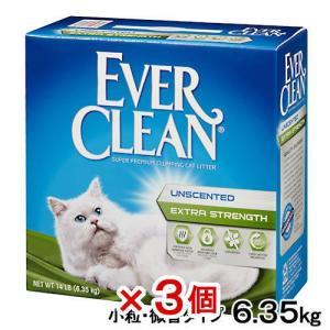 箱売り エバークリーン 小粒・微香タイプ 6.35kg 1箱3個 並行輸入品 猫砂 ベントナイト お一人様1点限り 同梱不可 関東当日便|chanet