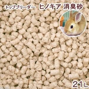 GEX トップブリーダー ヒノキア 消臭砂 21L トイレ砂 ひのき 小動物用 関東当日便