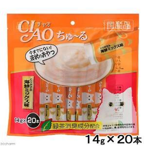 いなば CIAO(チャオ) ちゅ〜る とりささみ 海鮮ミックス味 14g×20本 関東当日便|chanet