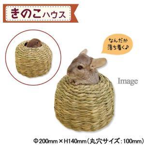川井 KAWAI きのこハウス チンチラ うさぎ 小動物 鳥 おもちゃ 関東当日便|chanet