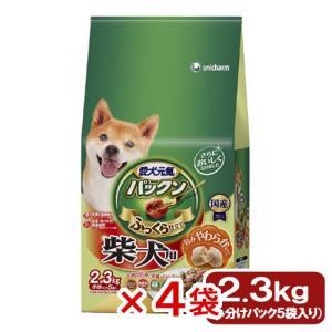 箱売り ゲインズパックン 柴犬用 2.3kg 1箱4袋 ドッグフード 関東当日便