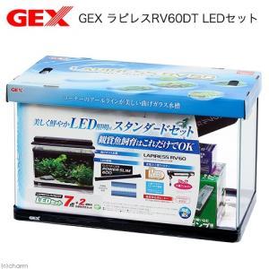 GEX ラピレスRV60DT LEDセット 水槽セット アクアリウム お一人様1点限り 沖縄別途送料