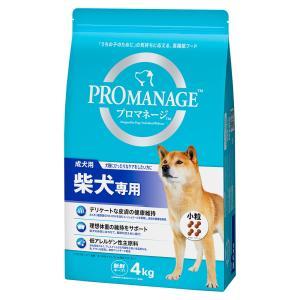 プロマネージ 成犬用 柴犬専用 4kg ドッグフード chanet
