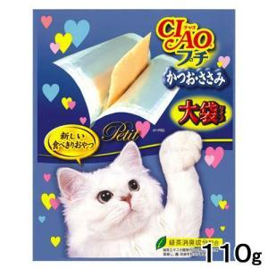 いなば CIAO(チャオ) プチ大袋タイプ かつお・ささみ 110g 関東当日便|chanet