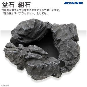 ニッソー 盆石 組石 水草 レイアウト 水槽 アクセサリー 水槽用オブジェ アクアリウム用品