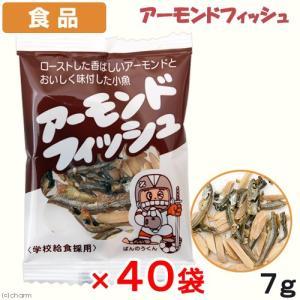 食品 アーモンドフィッシュ 7g×40入 おやつ ナッツ 小魚 関東当日便|chanet