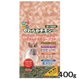 ハイペット パスチャーチモシー ソフト 400g 茶色パッケージ うさぎ 牧草 関東当日便