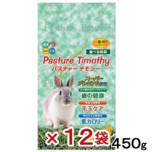 箱売り ハイペット パスチャーチモシー 450g(緑色パッケージ)1箱12袋セット お一人様1点限り 関東当日便|chanet