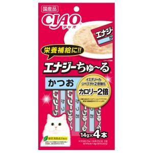 いなば CIAO(チャオ) エナジーちゅ〜る かつお 14g×4本 キャットフード おやつ 国産 ちゅーる 関東当日便 chanet