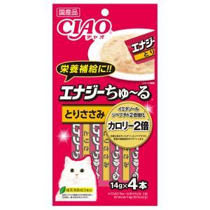 いなば CIAO(チャオ) エナジーちゅ〜る とりささみ 14g×4本 キャットフード おやつ 国産 ちゅーる 関東当日便 chanet