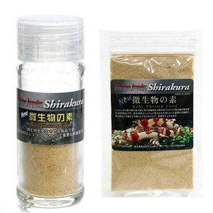 シラクラ 微生物の素 瓶入り + 詰め替え用セット エビ 飼育 関東当日便|chanet