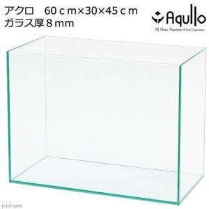 同梱不可・中型便手数料 60cmハイタイプ水槽(単体)アクロ60N−H(60×30×45cm)フタ無し オールガラス水槽 Aqullo 才数170|chanet