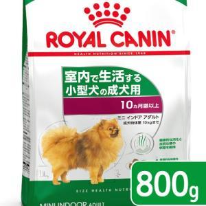 ロイヤルカナン インドア ライフ アダルト 成犬用 800g 3182550849623 ジップ付 chanet