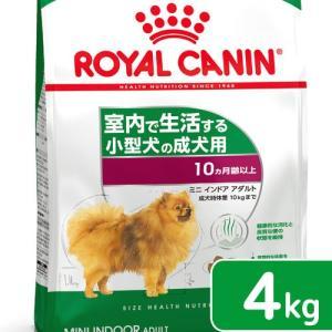 ロイヤルカナン インドア ライフ アダルト 成犬用 4kg 3182550849647 関東当日便|chanet