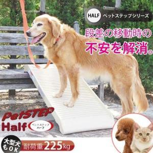 (大型)ペットステップ ハーフ 犬・猫用 スロープ 100cm 別途大型手数料・同梱不可|chanet