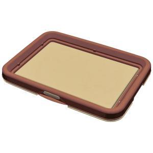 ペティオ 片手でらくらく ドッグトレー ブラウン レギュラー 犬 トイレ トレー 関東当日便|chanet