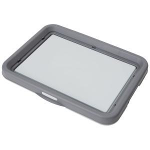 ペティオ 片手でらくらく ドッグトレー グレー レギュラー 犬 トイレ トレー 関東当日便|chanet
