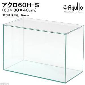 60cmハイタイプ水槽(単体)アクロ60H−S(60×30×40cm)オールガラス水槽 Aqullo アクアリウム用品 関東当日便|chanet
