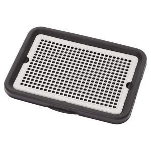 アドメイト わんトレー ブラック レギュラー 犬 トイレ 関東当日便|chanet