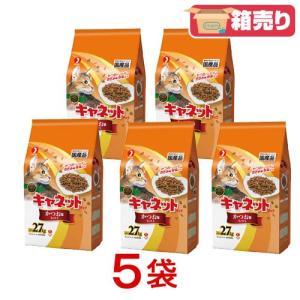 箱売り ペットライン キャネットチップ かつお味ミックス 2.7kg お買い得5袋入 関東当日便