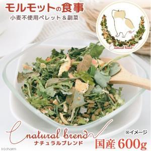国産 モルモットの食事 ナチュラルブレンド 600g  国産野菜使用 乳酸菌入り 関東当日便