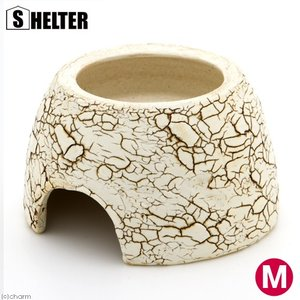 メーカー:SHELTER 生体の隠れ家、脱皮不全防止に! クラックウェットシェルター M 対象 … ...