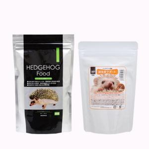 ハリネズミの食事 昆虫食サポート 100g+SANKO ハリネズミフード 300g
