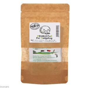 プロバグズ 真空生昆虫 3種×1袋(ミルワーム・ライスワーム・シルクワーム蚕)保存用チャック袋付 ハリネズミ用 PROBUGS|chanet