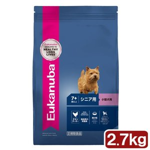ユーカヌバ Eukanuba スモール シニア 2.7kg 小型犬用 7歳以上 ジップ付 関東当日便|chanet