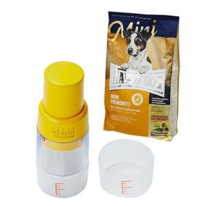HAPPY DOG ミニピエモンテ 栗、ダッグ&シーフィッシュ 1kg + ペティオ ヘルス プログラム フードクラッシャー ハンディ|chanet