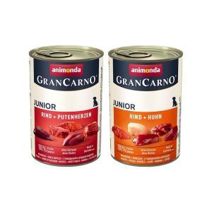 アソート アニモンダ ドッグ グランカルノ ジュニア 400g 2種各1缶 正規品 関東当日便|chanet